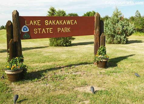 Lake Sakakawea State Park, North Dakota