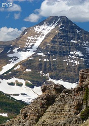 Mount Stimson, Dawson Pitamakan Trail Loop, Glacier National Park