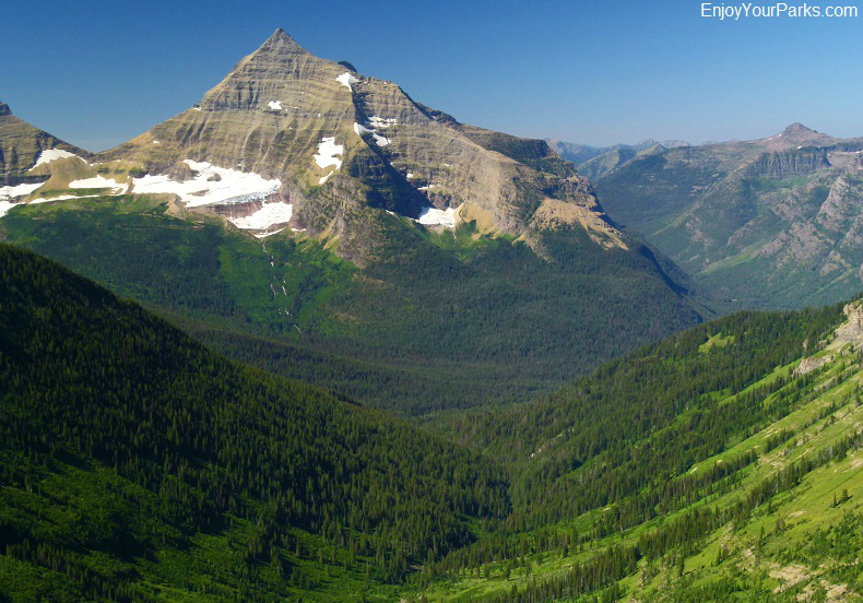 Nyack Creek / Coal Creek Trail Loop with Mount Stimson, Glacier National Park