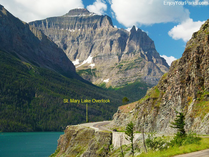 St. Mary Lake Overlook, Going To The Sun Road, Glacier National Park