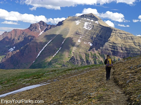 Rising Wolf Mountain, Dawson-Pitamakan Trail Loop, Glacier National Park