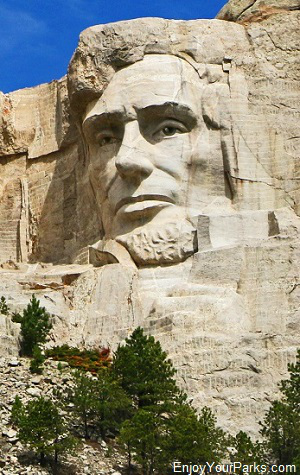 Abraham Lincoln, Mount Rushmore National Memorial, South Dakota