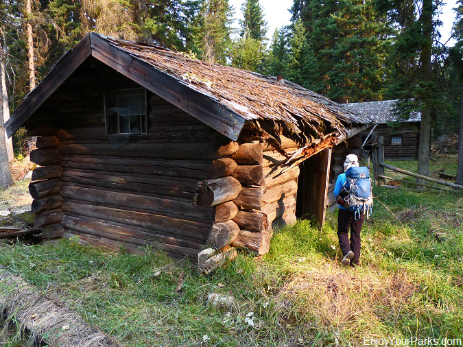 Nyack Patrol Cabin, Nyack Coal Creek Loop, Glacier National Park