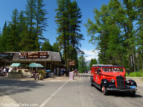 Apgar Village, Glacier National Park