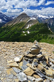 Cut Bank Pass, Dawson Pass Trail - Pitamakan Pass Trail Loop, Glacier National Park