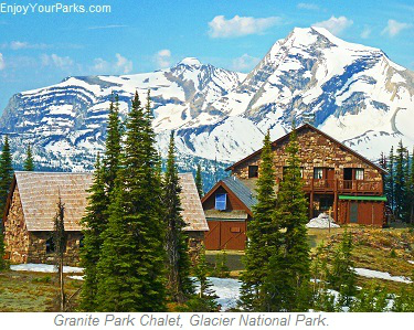 Granite Park Chalet, Glacier Park Lodging, Glacier National Park