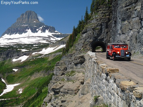 Going To The Sun Road, Glacier National Park.