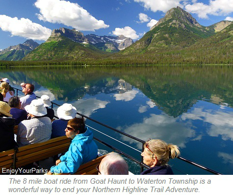 Waterton Lake Boat Tour, Glacier Park