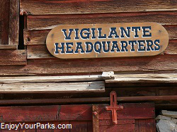 Vigilante Headquarters, Virginia City Montana