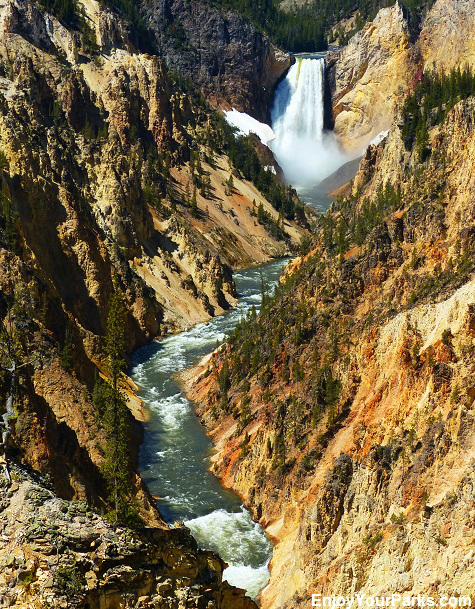 Grand Canyon of the Yellowstone, Yellowstone National Park