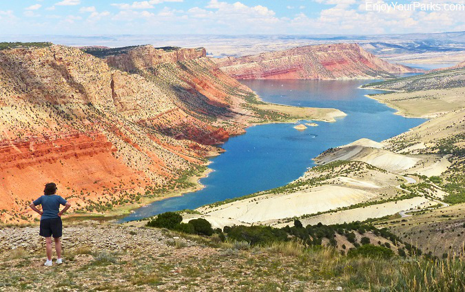 Sheep Creek Bay Area, Flaming Gorge National Recreation Area, Wyoming