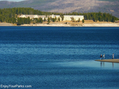 Gull Point, Yellowstone Lake, Yellowstone National Park