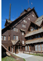 Old Faithful Inn, Yellowstone National Park