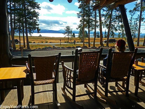 Lake Lodge, Yellowstone National Park