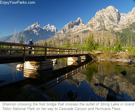 String Lake Outlet, Grand Teton National Park