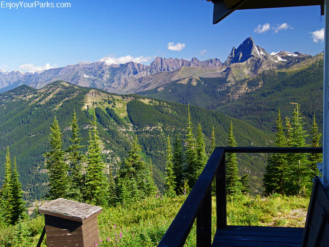 View from Scalplock Lookout, Glacier National Park