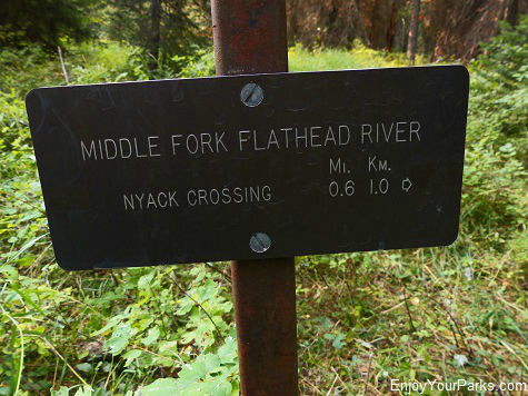 Nyack Crossing Trail, Nyack Coal Creek Loop, Glacier National Park
