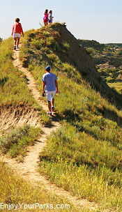 Hikers, Theodore Roosevelt National Park