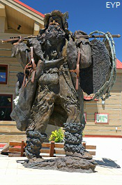Mountain Man Statue, Pinedale Wyoming