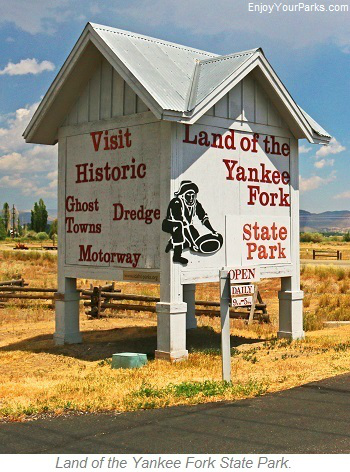 Land of the Yankee Fork State Park, Salmon River Scenic Byway