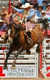 Cheyenne Frontier Days Rodeo, Wyoming