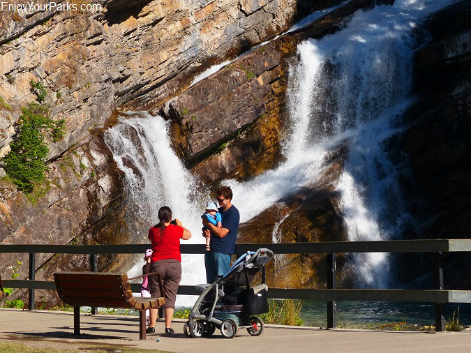 Cameron Falls, Waterton Park Townsite, Waterton Lakes National Park