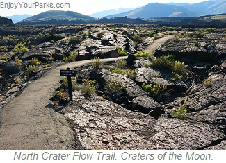 North Crater Flow Trail, Craters of the Moon, Idaho