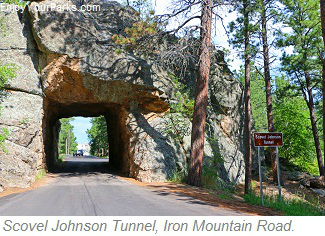 Scovel Johnson Tunnel, Iron Mountain Road, South Dakota