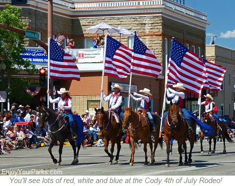 Cody Wyoming 4th of July Parade
