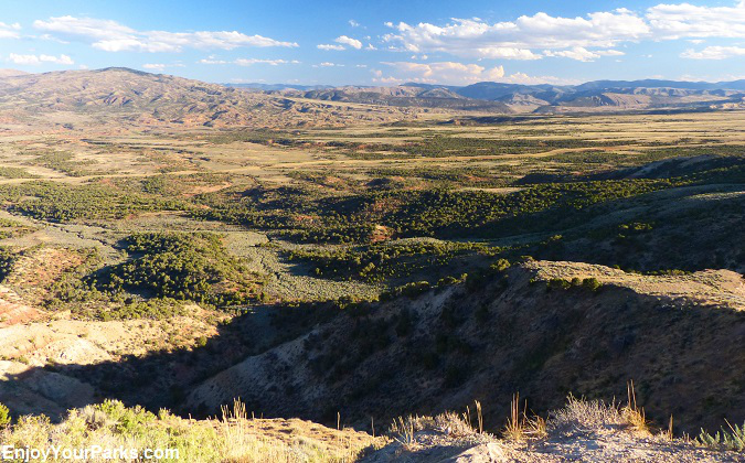 High Country Desert along the Flaming Gorge Scenic Byway, east of Flaming Gorge Reservoir.