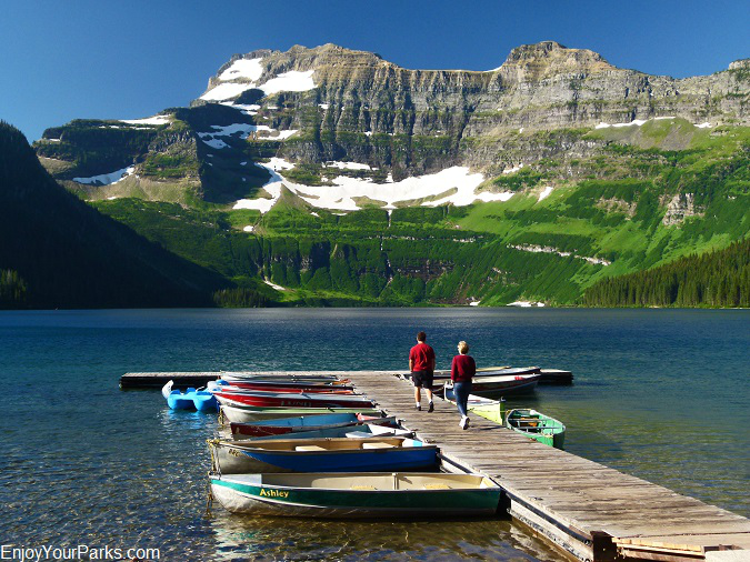 Cameron Lake, Akamina Parkway, Waterton Lakes National Park
