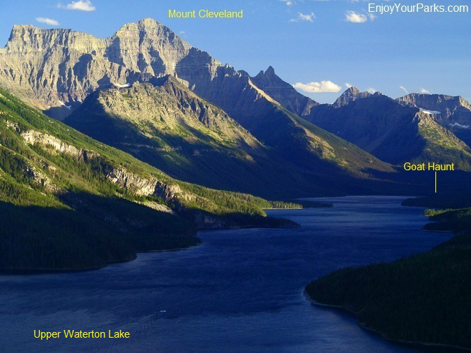 Waterton Lake and Goat Haunt, Glacier National Park