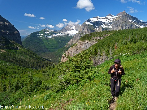 Bowman Lake Trail, Hike to Brown Pass, Glacier National Park