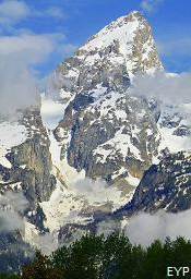 Grand Teton Peak, Grand Teton National Park Wyoming