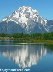 Mount Moran, Grand Teton National Park Wyoming
