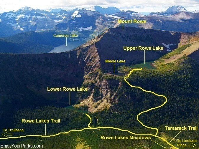 Rowe Lakes Area, Waterton Lakes National Park
