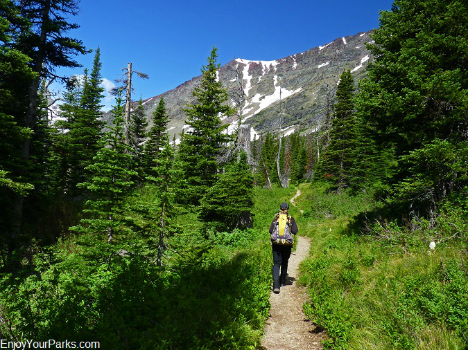 Otokomi Lake Trail, Glacier National Park