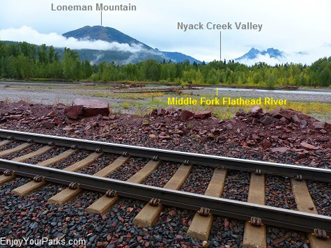 Nyack Crossing, Glacier National Park