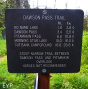 Dawson Pass Trail - Pitamakan Pass Trail Loop, Glacier National Park