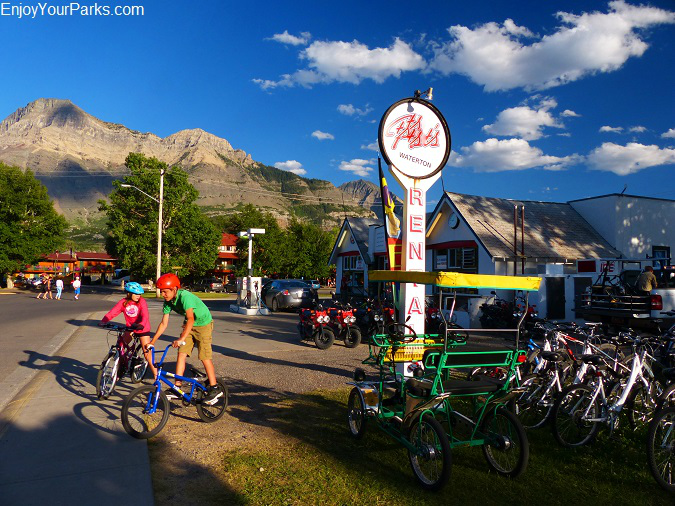 Waterton Park Townsite, Waterton Lakes National Park