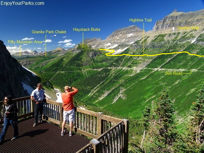 Highline Trail, Northern Lewis Range, Glacier Park