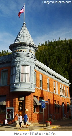 Historic Wallace, Idaho
