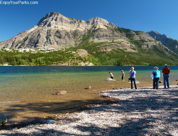 Waterton Lake Shoreline, Waterton Park Townsite, Waterton Lakes National Park