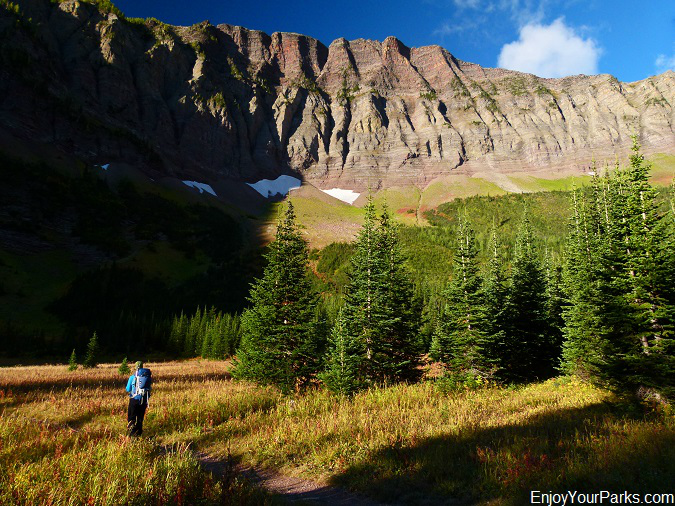 Rowe Lakes Meadow, Tamarack Trail, Waterton Lakes National Park