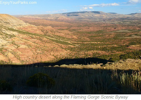 Flaming Gorge Scenic Byway, Wyoming