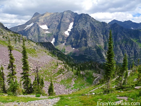 Lincoln Pass, Gunsight Pass Trail, Glacier National Park