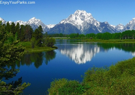 Mount Moran and Oxbow Bend, Grand Teton National Park, Wyoming