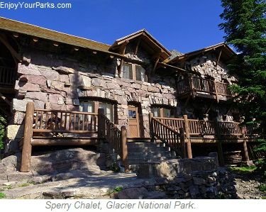 Sperry Chalet, Glacier Park Lodging, Glacier National Park