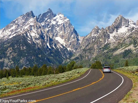 Teton Park Road, Grand Teton National Park, Wyoming