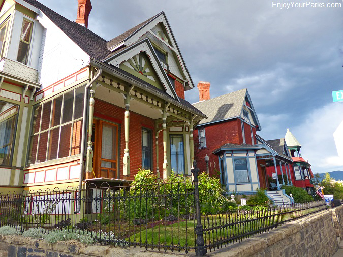 Historic homes in the Butte National Historic Landmark District